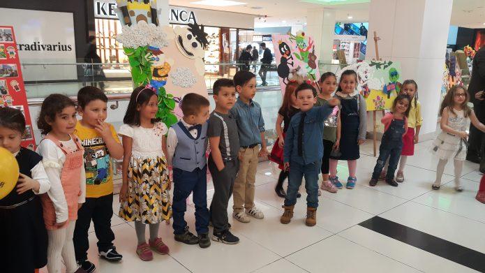 Faik Yılmazipek İlkokulu Öğrencilerinin Sergisi Kent Meydanı Avm'de